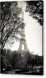 The Eiffel Tower Paris France Acrylic Print