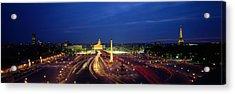 France, Paris, Place De La Concorde Acrylic Print