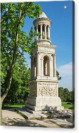 France, Saint Remy De Provence Acrylic Print by Emily Wilson