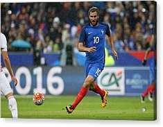 France V Russia - International Friendly Acrylic Print by Jean Catuffe