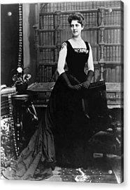 Frances Folsom Cleveland Acrylic Print by Underwood Archives