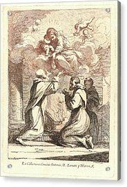 Francesco Bartolozzi Italian, 1727-1815 After Guercino Acrylic Print by Litz Collection