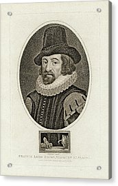 Francis Bacon Acrylic Print by Chemical Heritage Foundation