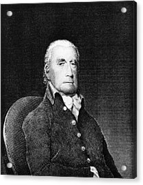 Francis Lewis (1713-1803) Acrylic Print by Granger