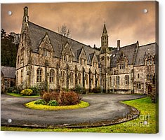 Franciscan Friary Acrylic Print by Adrian Evans