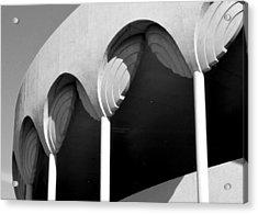 Frank Lloyd Wright Designed Auditorium Detail Acrylic Print by Karyn Robinson