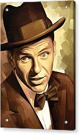 Frank Sinatra Artwork 2 Acrylic Print