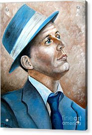 Frank Sinatra Ol Blue Eyes Acrylic Print