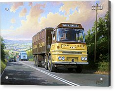 Frank Tucker's Erf. Acrylic Print by Mike  Jeffries