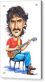 Frank Zappa Acrylic Print by Art