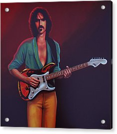 Frank Zappa Acrylic Print by Paul Meijering