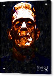Frankenstein - Abstract Acrylic Print