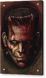Frankenstein  Acrylic Print by David Shumate