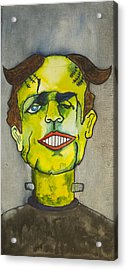Frankensteins Monster As Tillie Acrylic Print by Patricia Arroyo