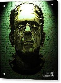 Frankenstein's Monster Dark Variant Acrylic Print