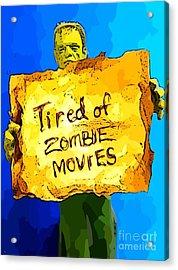 Frankenstein's Monster Turns Activist Acrylic Print