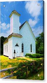 Frankford Church In Spring Acrylic Print