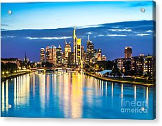 Frankfurt Am Main Acrylic Print