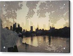 Frankfurt Am Main Acrylic Print by Juan  Bosco