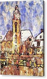 Frankfurt Germany Central Square 1 Acrylic Print