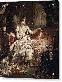 Franque, Joseph 1774-1833. Marie-louise Acrylic Print by Everett
