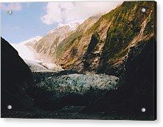 Franz-josef Glacier Acrylic Print