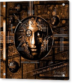 Franziskus Acrylic Print