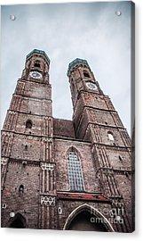 Frauenkirche Acrylic Print by Hannes Cmarits