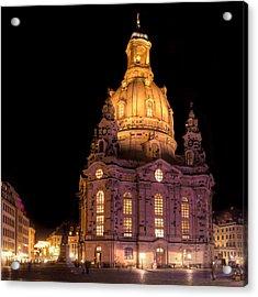 Frauenkirche Acrylic Print by Steffen Gierok