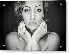 Freckles Acrylic Print