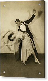 Fred Astaire Acrylic Print by Edward Steichen