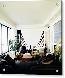 Fred Mueller's Living Room Acrylic Print by Horst P. Horst