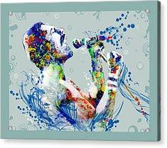 Freddie Mercury 10 Acrylic Print