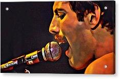Freddie Mercury Series 2 Acrylic Print