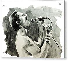 Freddie Mercury 8 Acrylic Print