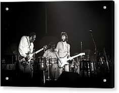 Freddy King And Eric Clapton Acrylic Print by Mike Norton