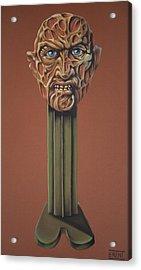 Freddy Krueger  Acrylic Print by Brent Andrew Doty