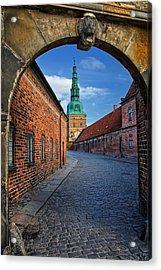 Frederiksborg Castle Hillerod Denmark Acrylic Print by Carol Japp