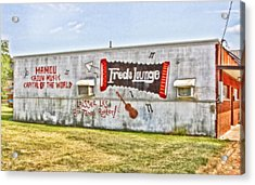 Fred's Lounge Acrylic Print by Scott Pellegrin
