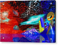 Free Association 1 Acrylic Print by Phillip Mossbarger