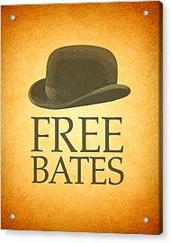 Free Bates Acrylic Print by Design Turnpike