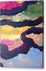 Free Fall Acrylic Print