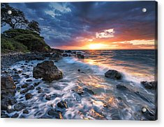 Free Flowing Acrylic Print by Hawaii  Fine Art Photography