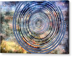 Free From Space And Time Acrylic Print by Angelina Vick