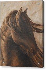 Free Gal Acrylic Print by Carol Grieve