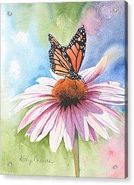 Free Indeed Acrylic Print by Kathy Nesseth