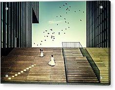 Free Like A Bird... Acrylic Print