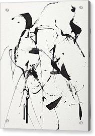 Free Man In Paris Acrylic Print