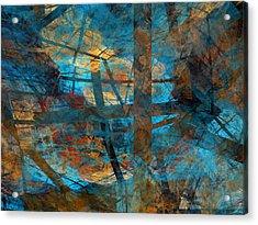 Acrylic Print featuring the digital art Free Your Mind  by Menega Sabidussi