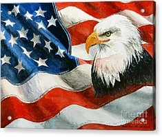 Freedom Acrylic Print by Andrew Read